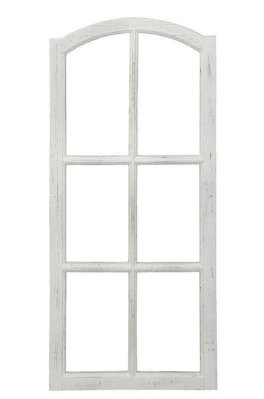 Deko Fensterrahmen 50 X 3x H112 Holz Fenster Attrappe Shabby Vintage