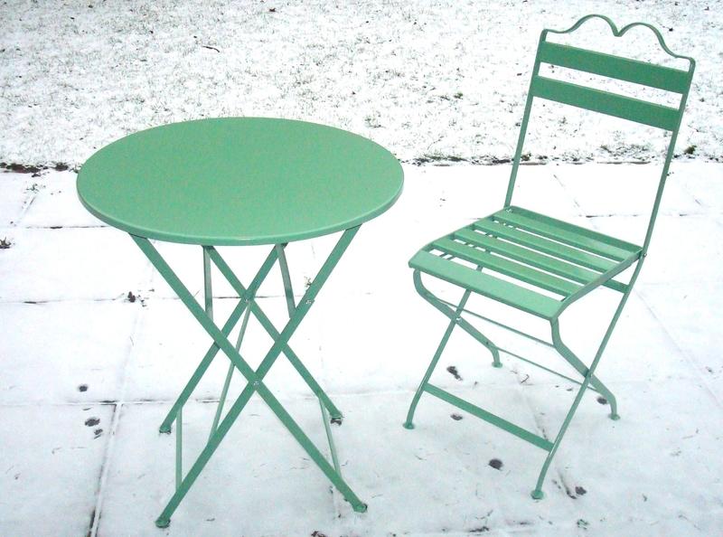 Garten Tisch 2 Stühle Zart Grün Petroleumofen Shop