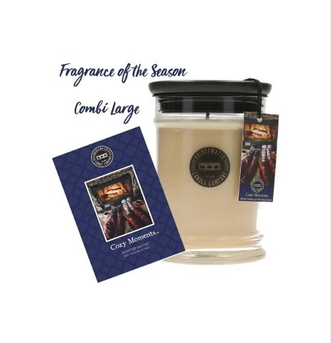 Bridgewater Weihnachtsduft Cozy Moments Candle 70Std.+1 Sachet Gratis 103203