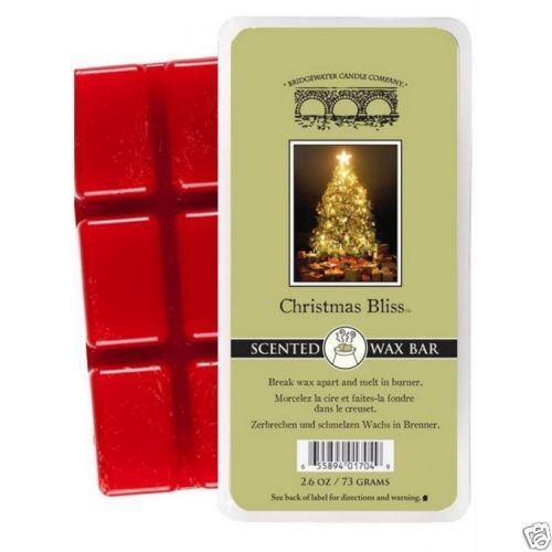 Bridgewater Candle - Wax Bar - Duft-KERZE Candle Scented Christmas Bliss *